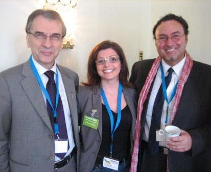Ross W. Tsagalidis, The Armed Forces, Anthi Kalpakidou,Vinnova, and Vasilis Koloulias, DSV at Global Forum 2012.